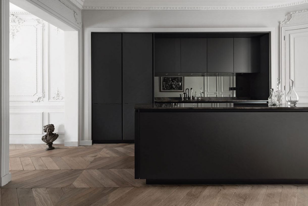 SieMatic S2-SLS - Black Matt / Black Matt Recess Channels