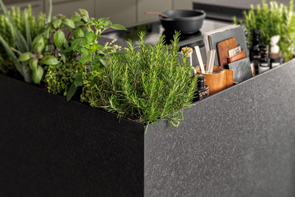 SieMatic Herb Garden Detail
