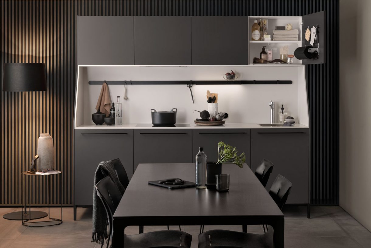 SieMatic SC29 Sideboard - SC45 Graphite Grey Matt